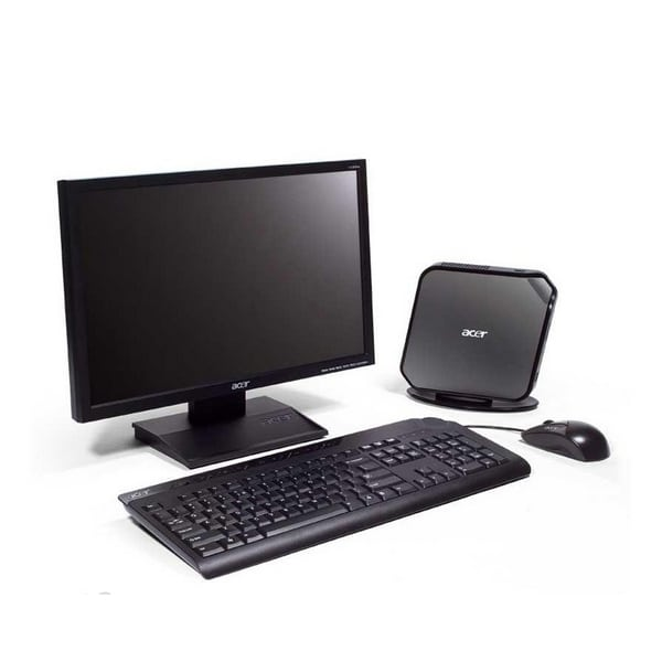 Компьютер б/у Acer Veriton N260G mini/2-ядерный/2Gb ОЗУ/80Gb HDD/HDMI
