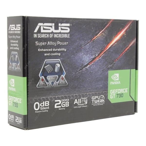 Новая игровая видеокарта ASUS Geforce GT 730 2Gb