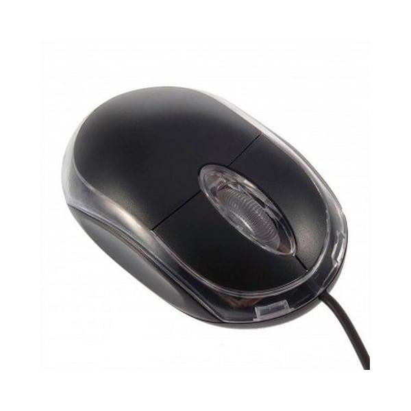 Мышка черная D&L USB