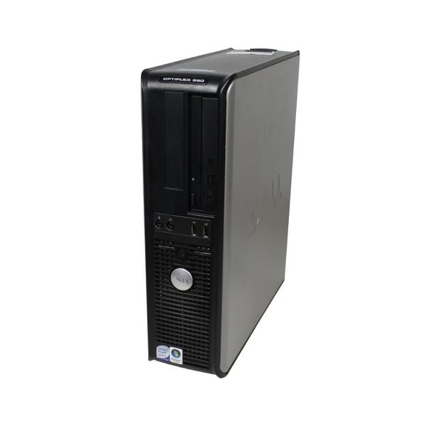 Компьютер б/у DELL OptiPlex 780SFF/2-ядерный/2Gb ОЗУ DDR3/160Gb HDD