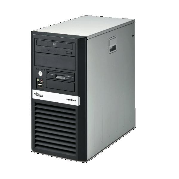 Игровой компьютер б/у Fujitsu Esprimo P5720 АТХ/4-ядерный/4Gb ОЗУ/250Gb HDD/2Gb Radeon R7 240