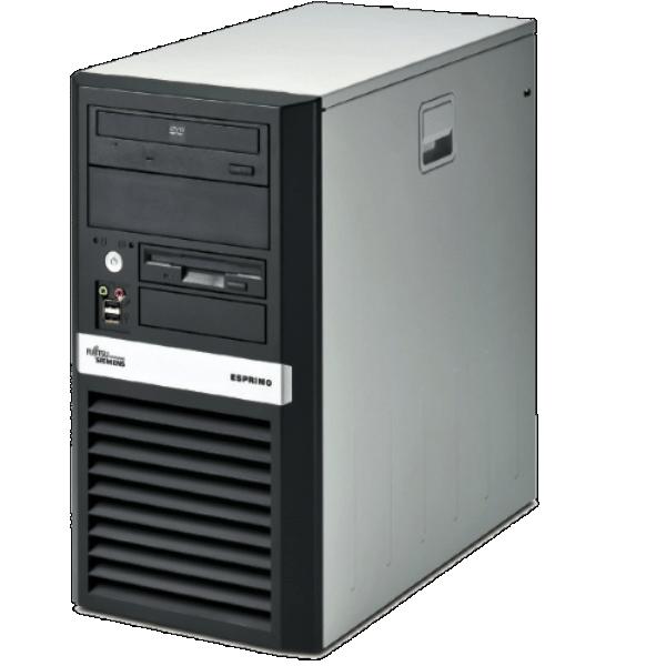 Компьютер б/у Fujitsu Esprimo P5720 АТХ/4-ядерный/4Gb ОЗУ DDR3/250Gb HDD
