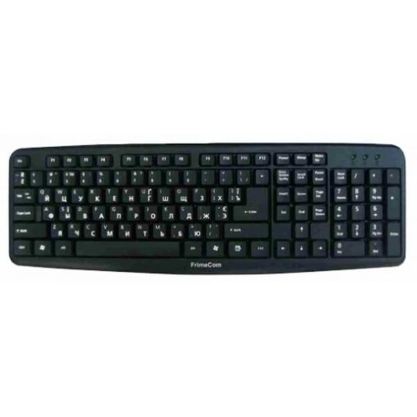 Клавиатура черная, USB или PS/2