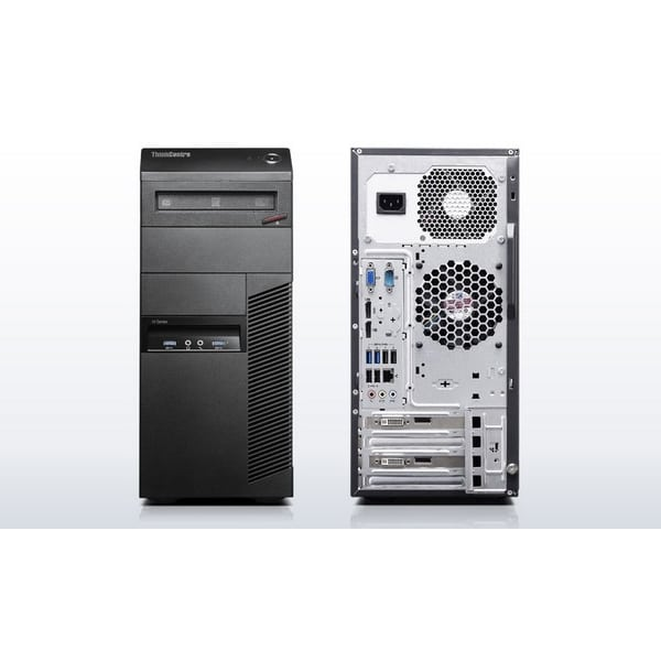 Игровой компьютер б/у Lenovo M82 Tower/4-ядерный Core i3-3220/4Gb ОЗУ DDR3/500Gb HDD/1Gb GeForce GTX550Ti