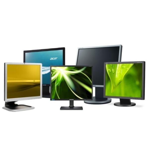 Мониторы б/у 19″ Samsung, HP, LG, Lenovo, Acer, Dell (отличное состояние)