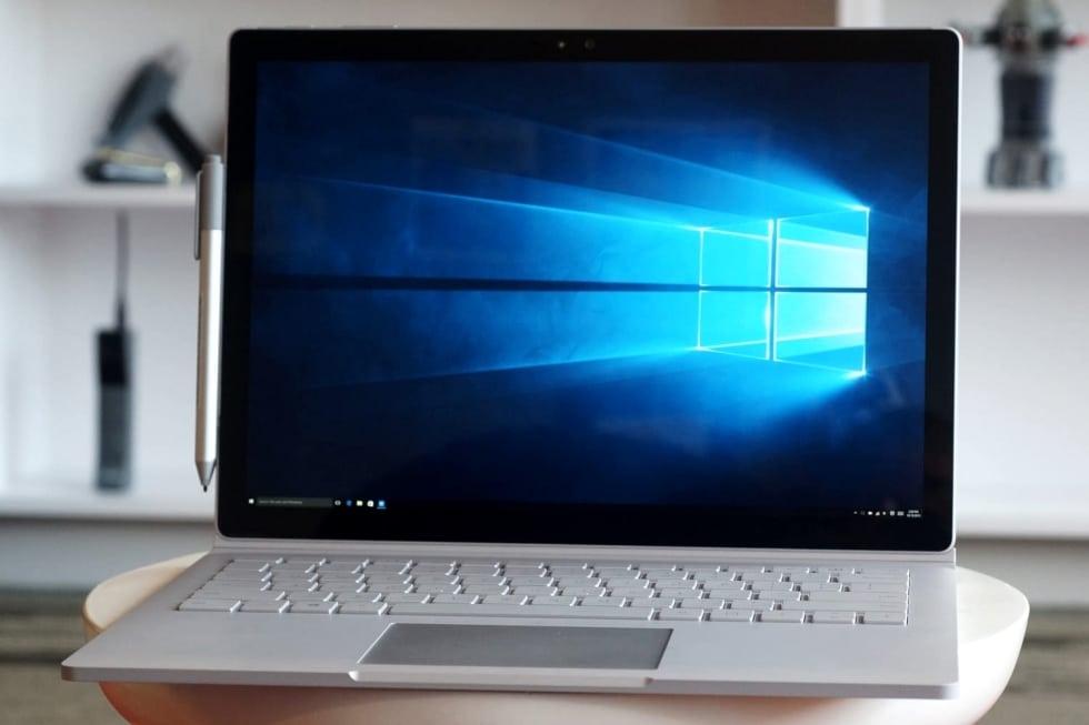 Ноутбук на Windows 10