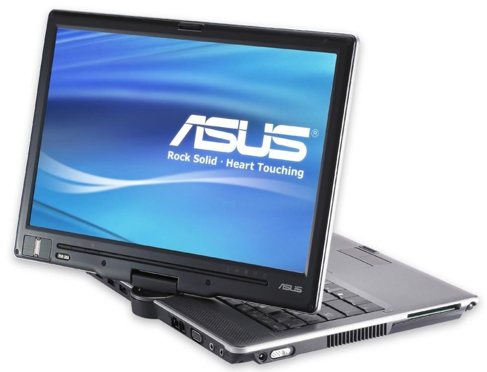 Ноутбук с поворотным экраном Asus
