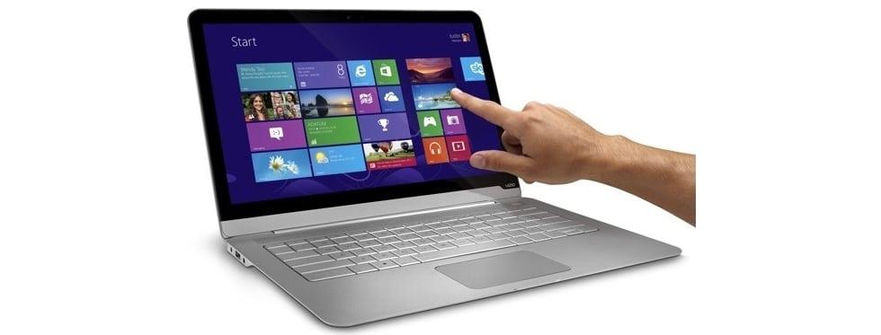 Сенсорный ноутбук