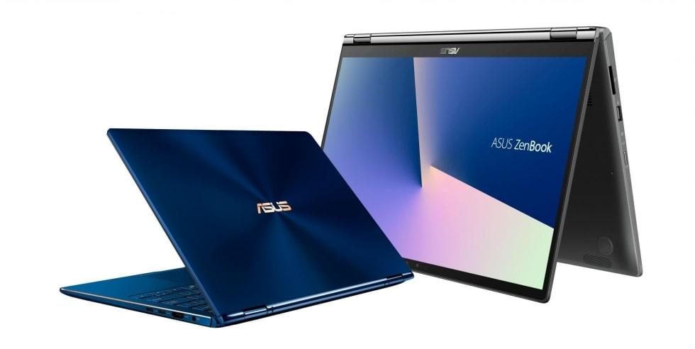 Ноутбуки-трансформеры от Asus