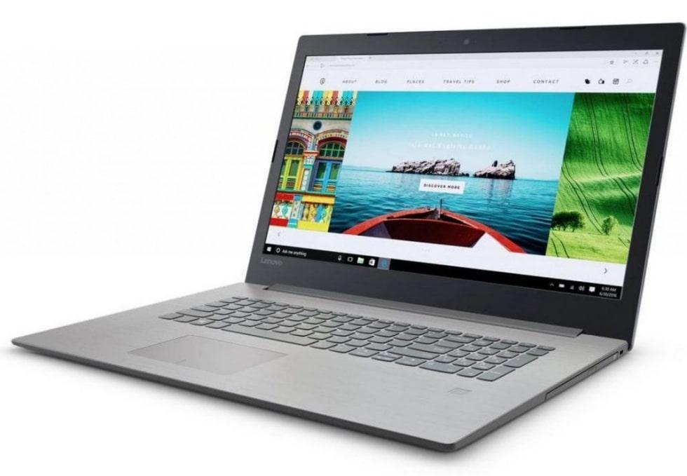 Стильный современный ноутбук