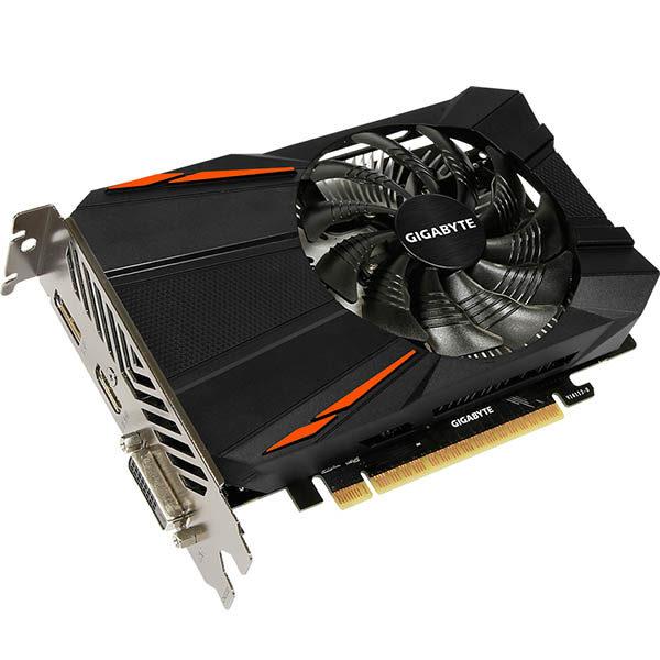 Игровая видеокарта Gigabyte GeForce GTX 1050 Ti - 4GB GDDR5