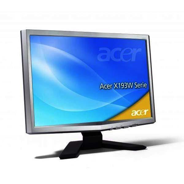 Монитор б/у 19″ Acer X193W, Отличное состояние