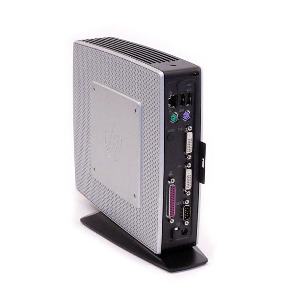 Тонкий-клиент б/у HP Thin Client - Ultra-Slim / Via Nano u3500 / 2Gb ОЗУ / 4Gb Flash