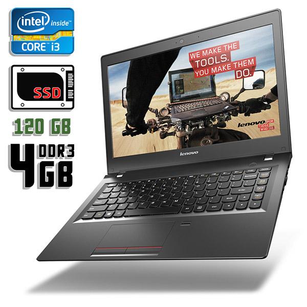 Ноутбук б/у 13,3″ Lenovo E31-70 - Core i3 4030U / 4Gb ОЗУ DDR3 / 120Gb SSD / камера
