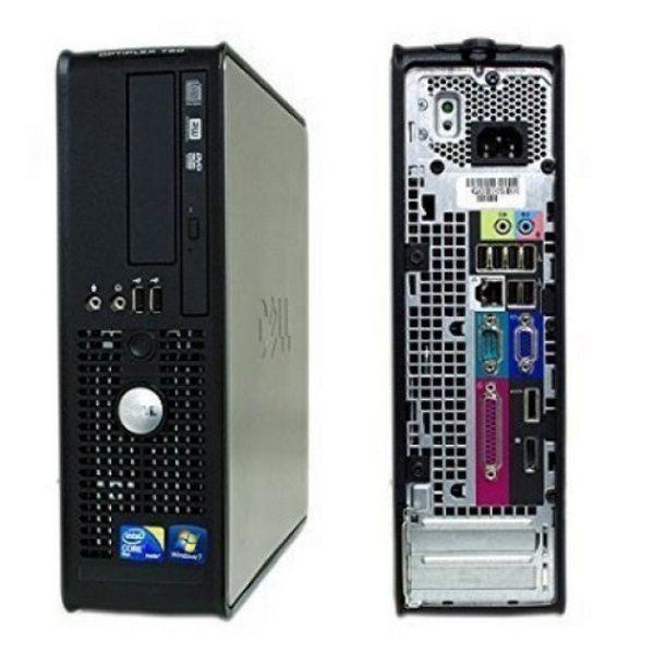 Игровой компьютер б/у DELL OptiPlex 780SFF slim/2-ядерный/Radeon HD/4Gb ОЗУ DDR3/250Gb HDD