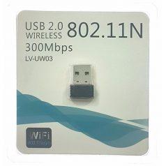 Беспроводной USB 2.0 Wi-Fi адаптер, 300Mbps, 2.4 Ghz, 802.11b/g/n