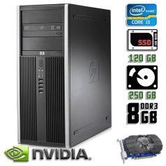 Игровой компьютер б/у HP Compaq 8200 Elite - Core i3 2100/GTX 750Ti/8Gb ОЗУ DDR3/SDD + HDD