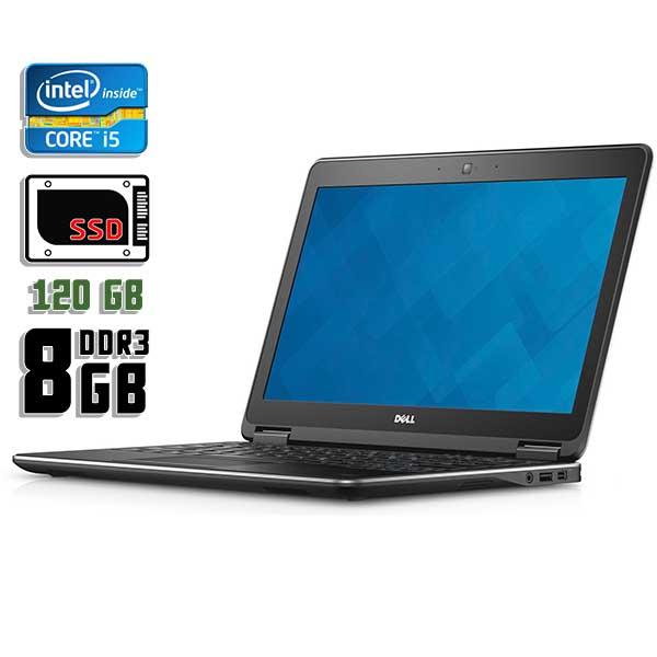 Ноутбук б/у 12,5″ Dell Latitude E7240 - Core i5 4300U / 8 Gb ОЗУ DDR3 / 120Gb SSD / камера