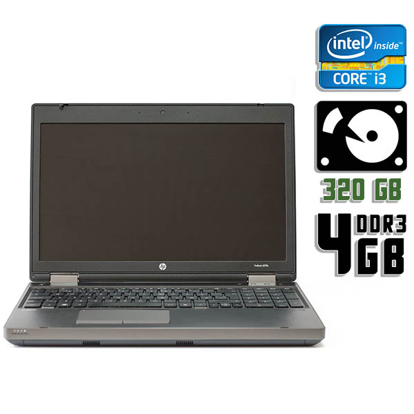 Ноутбук б/у 15,6″ HP Probook 6570b - Core i3 3230M / 4Gb ОЗУ DDR3 / 320Gb HDD / Камера
