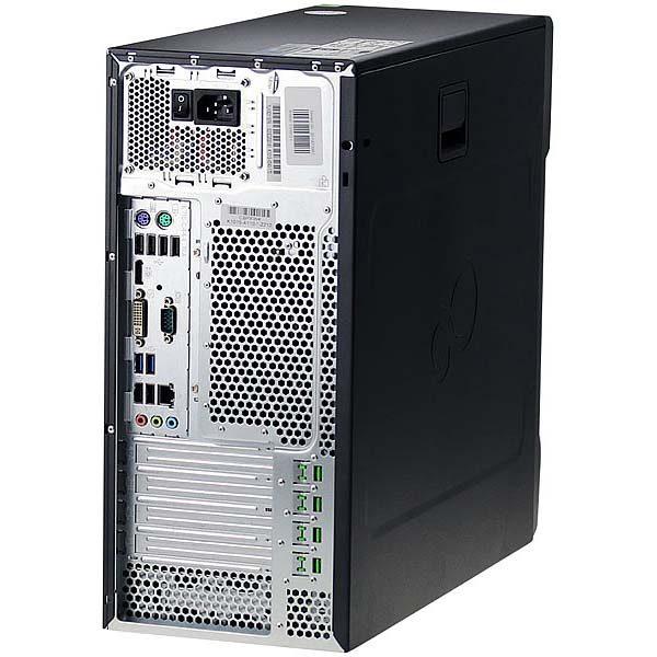 Игровой компьютер б/у Fujitsu Esprimo P710 / Core i3 4130 / GT 1030 / 8Gb ОЗУ DDR3 / SSD+HDD