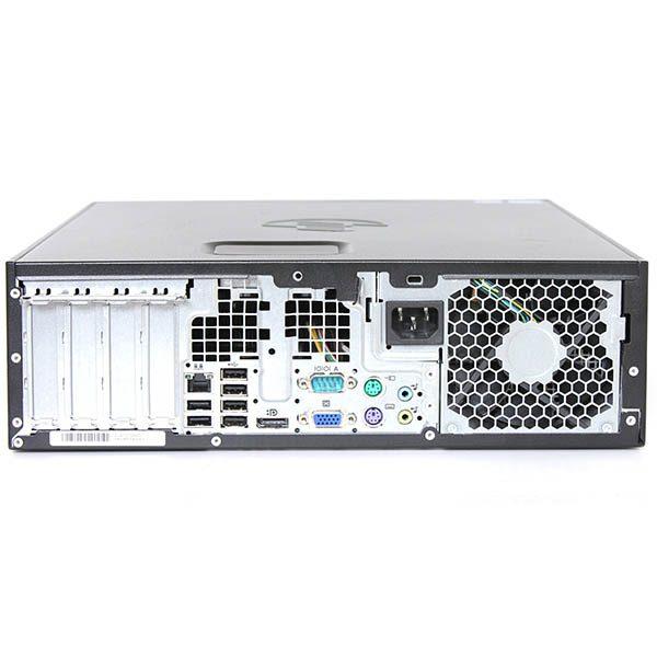 Компьютер б/у HP Compaq 8200 Elite SFF / 2-ядерный / 4Gb ОЗУ DDR3 / 120Gb SSD