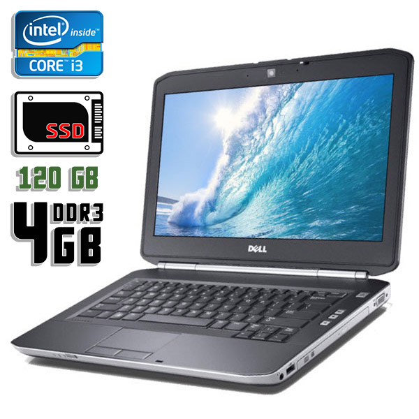 Ноутбук б/у 14,1″ Dell Latitude E5420 - Core i3 2310M / 4Gb ОЗУ DDR3 / 120Gb SSD / камера
