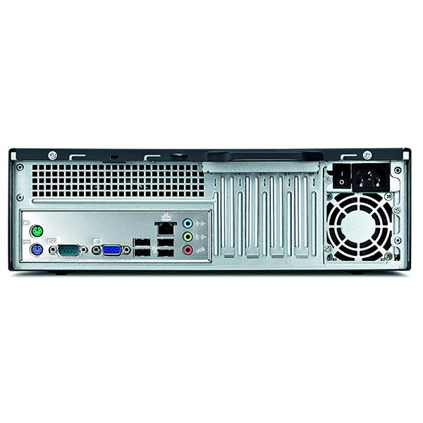 Игровой компьютер б/у Fujitsu Esprimo E3721 SFF / Core i3 530 / Radeon / 4Gb ОЗУ DDR3 / SSD+HDD