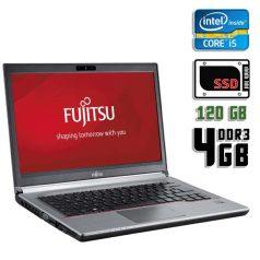 Ноутбук б/у 14,1″ Fujitsu LifeBook E744 - Core i5 4210M / 4Gb ОЗУ DDR3 / SSD 120Gb / камера