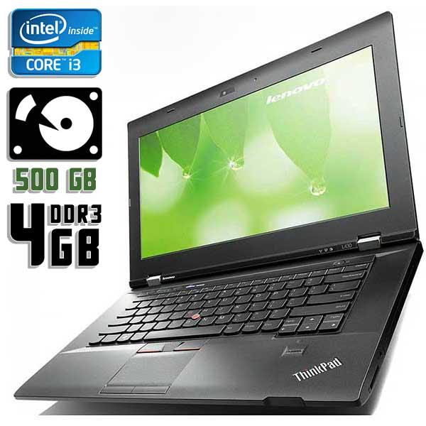 Ноутбук б/у 14,1″ Lenovo ThinkPad L430 - Core i3 2370M / 4Gb ОЗУ DDR3 / 500Gb HDD / камера
