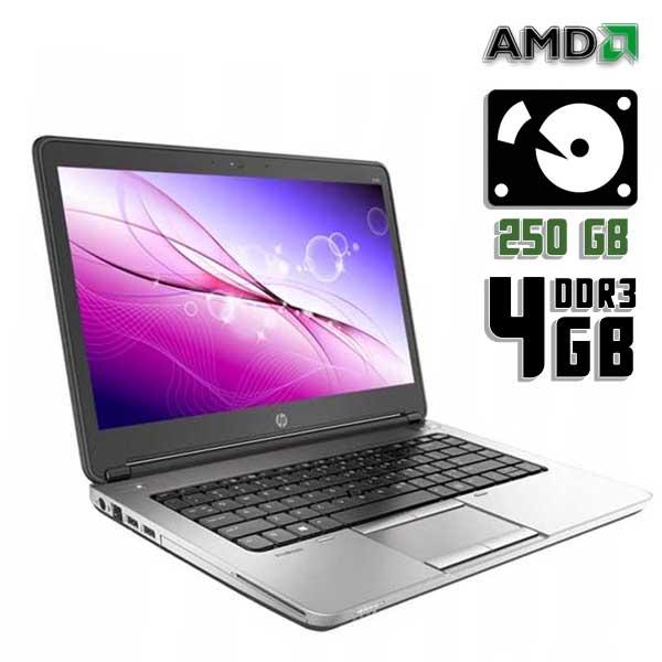 Ноутбук б/у 14″ HP Probook 645 G1 / 2 ядерный / 4Gb ОЗУ DDR3 / HDD 250Gb