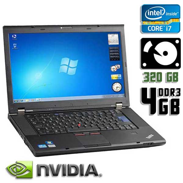 Игровой ноутбук б/у 15,6″ Lenovo ThinkPad W510 / Core i7 720QM / 4Gb ОЗУ DDR3 / 320GB HDD / камера