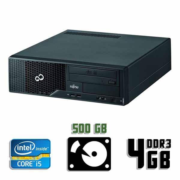 Компьютер б/у Fujitsu Esprimo E500 / Core i5 2400 / 4Gb ОЗУ DDR3 / 500Gb HDD
