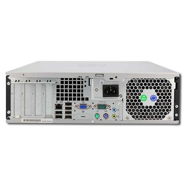 Компьютер б/у HP Compaq DC5800 SFF / Core i5 2400 / 4Gb ОЗУ DDR3 / 120Gb SSD