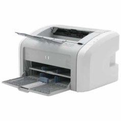 Принтер лазерный черно-белый б/у HP LaserJet 1020