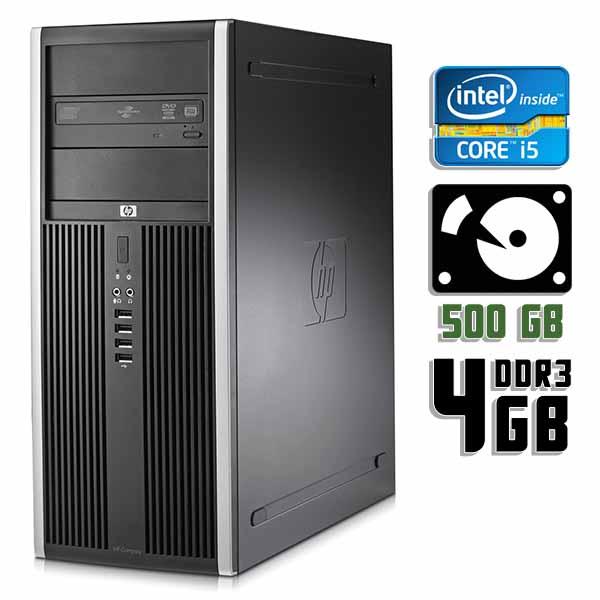 Компьютер б/у HP Compaq 8200 Elite - Core i5 2400 / 4Gb ОЗУ DDR3 / 500Gb HDD