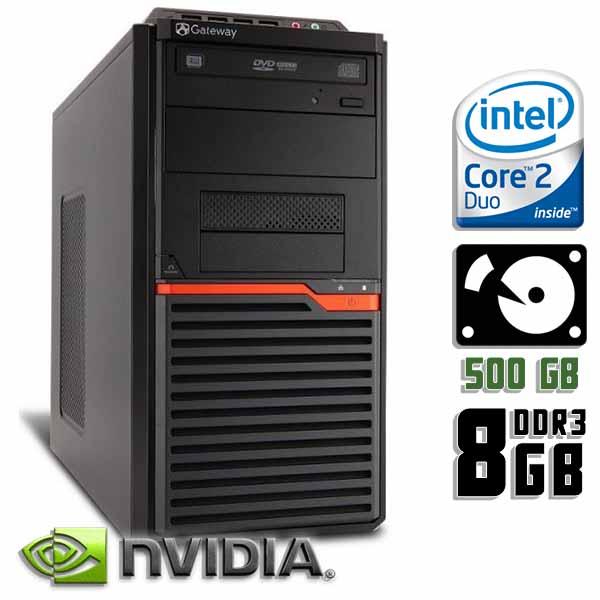Игровой компьютер б/у Acer Gateway DT30 / 2-ядерный / GeForce GT710 / 8Gb ОЗУ DDR3 / 500Gb HDD