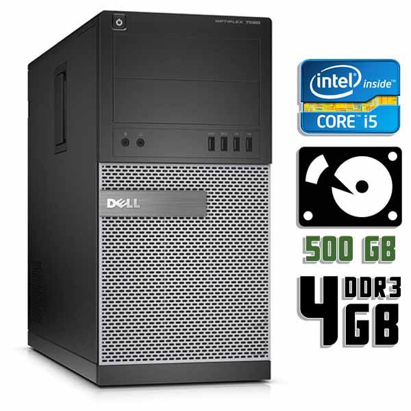 Компьютер б/у Dell OptiPlex 7020 - Core i5 4670 / 4Gb ОЗУ DDR3 / 500Gb HDD