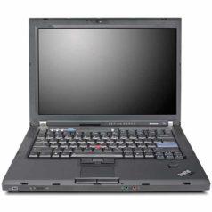 Ноутбук б/у 14″ Lenovo ThinkPad T61 / 2-ядерный / 4Gb ОЗУ / 120Gb SSD