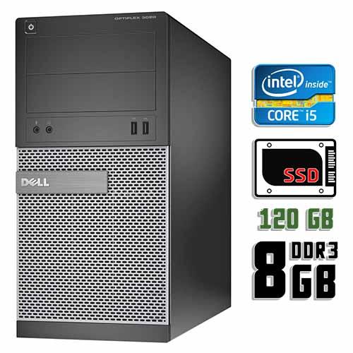 Компьютер б/у Dell Optiplex 3020 / Core i5 4Gen / 8Gb ОЗУ DDR3 / 120Gb SSD