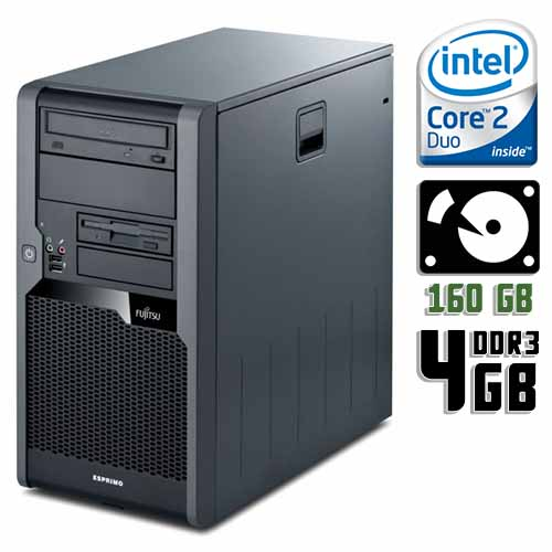 Компьютер б/у Fujitsu Esprimo P5731 / 2-ядерный / 4Gb ОЗУ DDR3 / 160Gb HDD