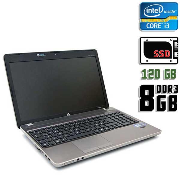 Ноутбук б/у 15,6″ HP ProBook 4530s - Core i3 2310M / 8Gb ОЗУ DDR3 / 120Gb SSD / Камера