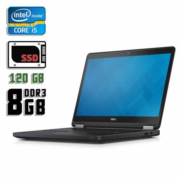 Ноутбук б/у 12,5″ Dell Latitude E7240 - Core i5 5300U / 8Gb ОЗУ DDR3 / 120Gb SSD / камера