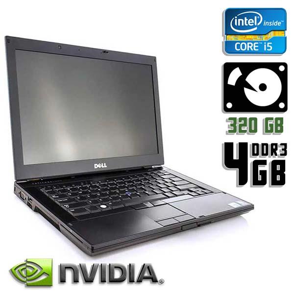 Ноутбук б/у 14,1″ Dell Latitude E6410 - Core i5 520M / NVS / 4Gb ОЗУ DDR3 / 320Gb HDD