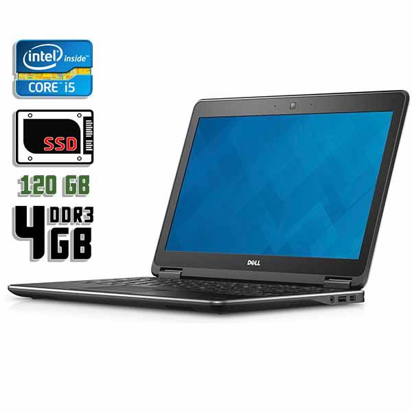 Ноутбук б/у 12,5″ Dell Latitude E7240 - Core i5 4200U / 4Gb ОЗУ DDR3 / 120Gb SSD / камера