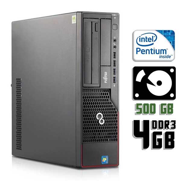 Компьютер б/у Fujitsu Esprimo E710 SFF / 2-ядерный / 4Gb ОЗУ DDR3 / 500Gb HDD
