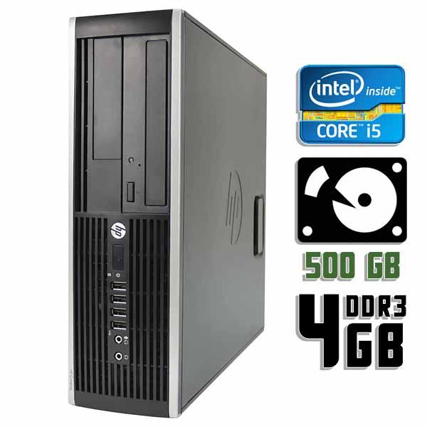 Компьютер б/у HP Compaq 6200 Pro SFF / Core i5 2400 / 4Gb ОЗУ DDR3 / 500Gb HDD