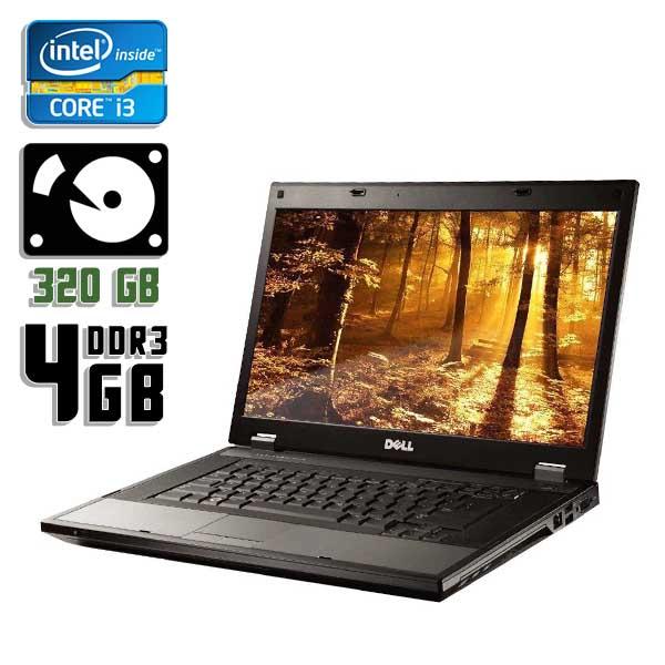 Ноутбук б/у 14,1″ Dell Latitude E5410 - Core i3 370M / 4Gb ОЗУ DDR3 / 320Gb HDD / камера