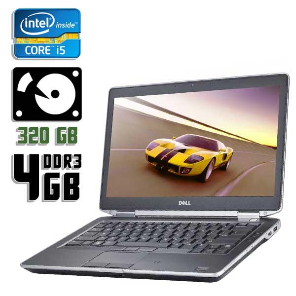 Ноутбук б/у 14,1″ Dell Latitude E6430 - Core i5 3340M / 4Gb ОЗУ DDR3 / 320Gb HDD / камера