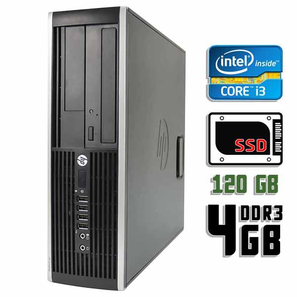 Компьютер б/у HP Compaq 6200 Pro SFF / Core i3 2100 / 4Gb ОЗУ DDR3 / 120Gb SSD