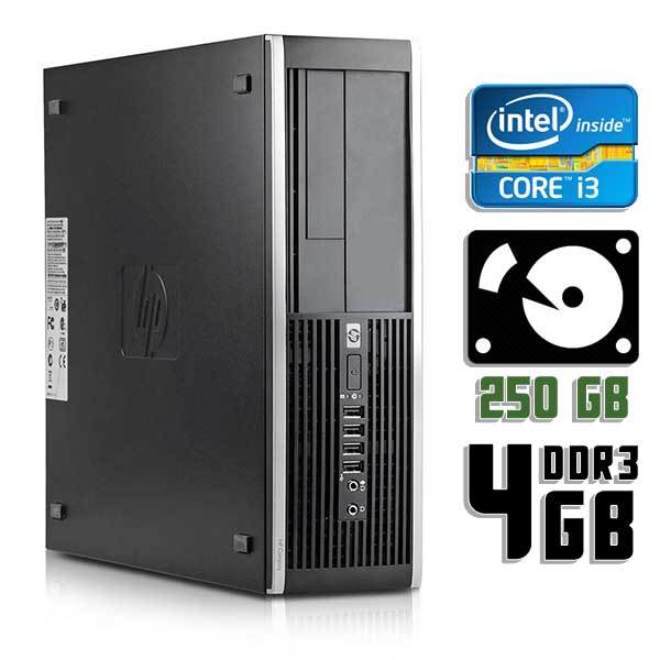 Компьютер б/у HP Compaq 8100 Elite SFF / Core i3 560 / 4Gb ОЗУ DDR3 / 250Gb HDD